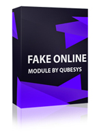 Fake Visitors Online Pro Joomla Module