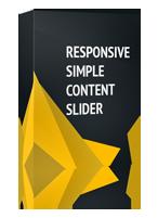 Responsive Simple Content Slider Joomla Module