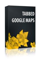 Vertical Tabbed Google Maps Joomla Module