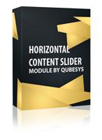 Horizontal Content Slider Joomla Module