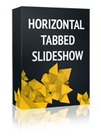 Horizontal Tabbed Slideshow Joomla Module