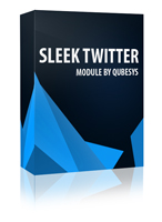 Sleek Twitter Joomla Module