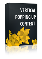 Vertical Popping Up Content Joomla Module