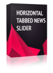 Horizontal Tabbed News Slider Joomla Module