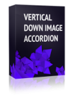 Vertical Down Image Accordion Joomla Module