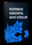 Responsive Horizontal News Scroller Joomla Module