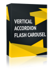Vertical Accordion Flash Carousel Joomla Module