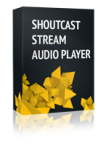 Shoutcast Stream Audio Player Joomla Module