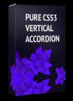 Pure CSS3 Vertical Accordion Joomla Module