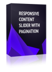 Responsive Content Slider with Pagination Joomla Module