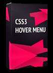 CSS3 Hover Menu Joomla Module