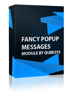 Fancy Popup Messages Joomla Module