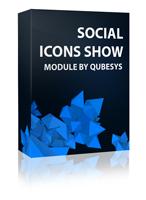 Social Icons Show Joomla Module