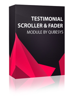 Testimonial Scroller Joomla Module