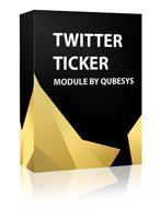 Twitter Ticker Joomla Module