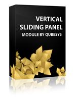 Vertical Sliding Panel Joomla Module