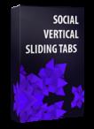 Social Vertical Sliding Tabs Joomla Module