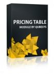 Pricing Table Joomla Module