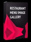Restaurant Menu Image Gallery Joomla Module